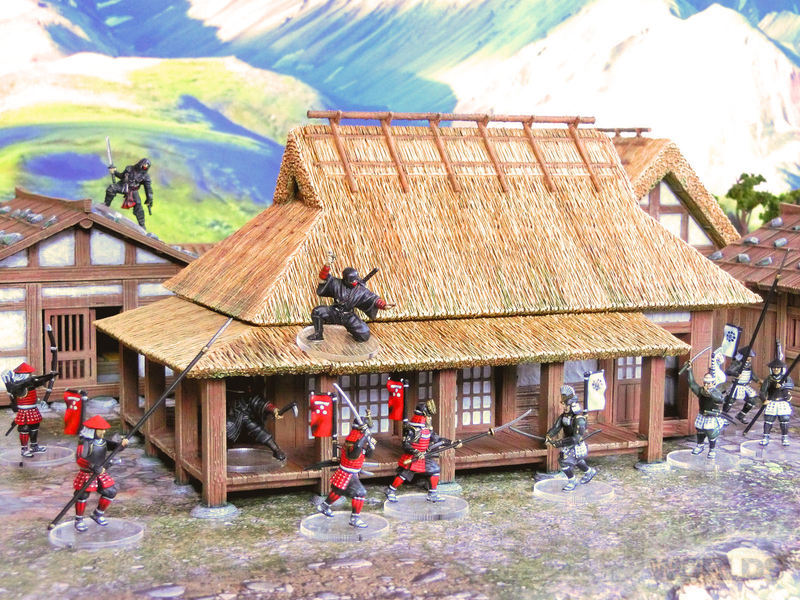 Samurai Farm House 1