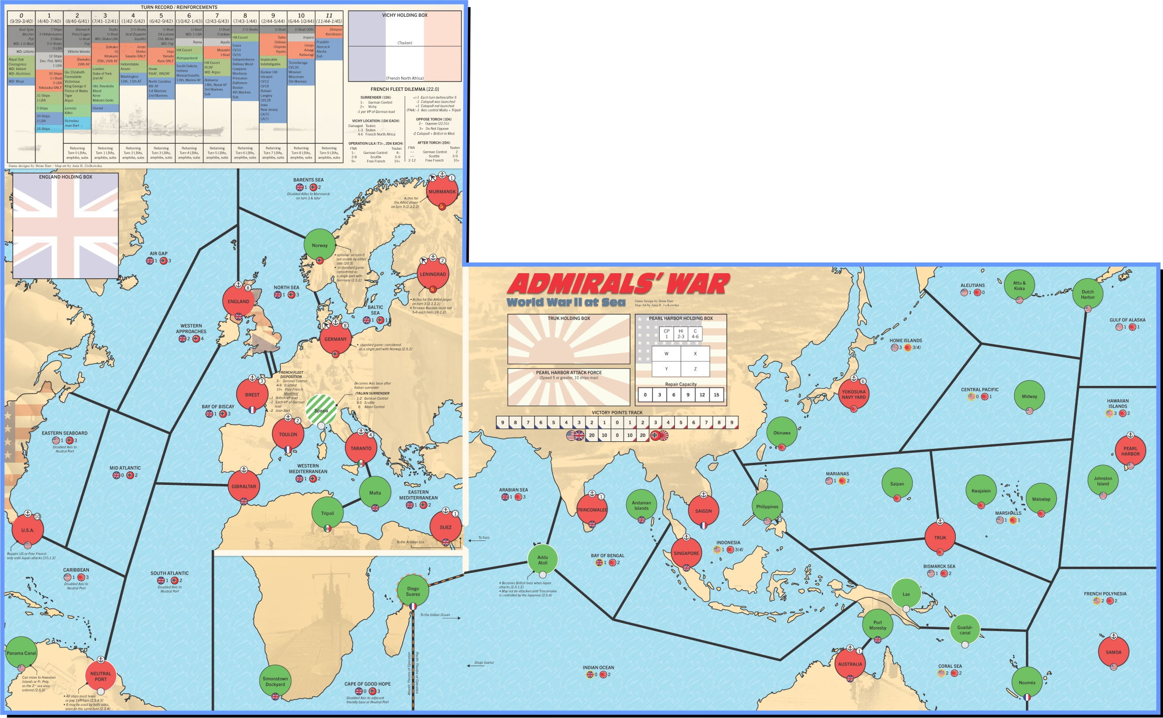 Admirals\' War: World War II at Sea [CPT1901] - $89.96 ...