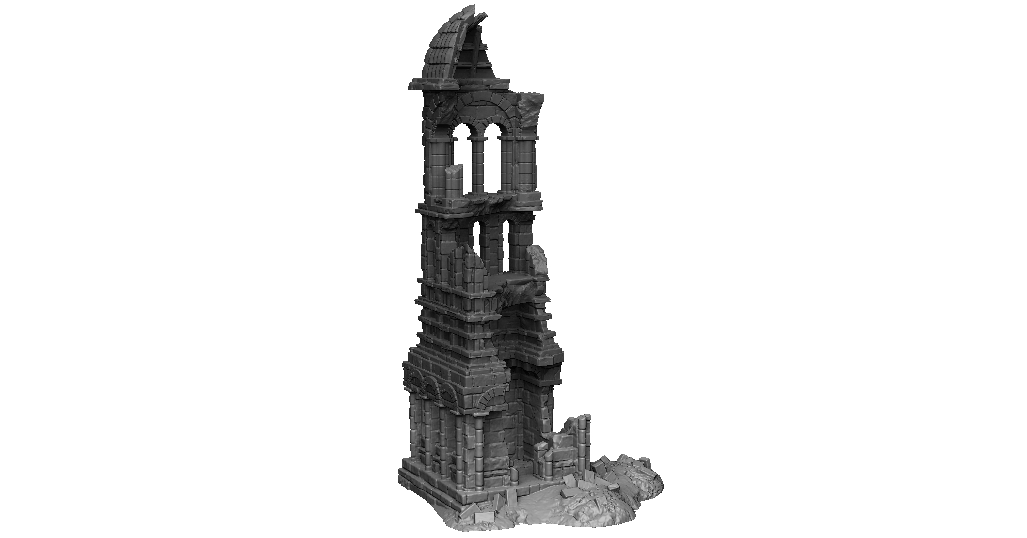 Dark Realms Forge Arkenfel Tower 2 Ruins