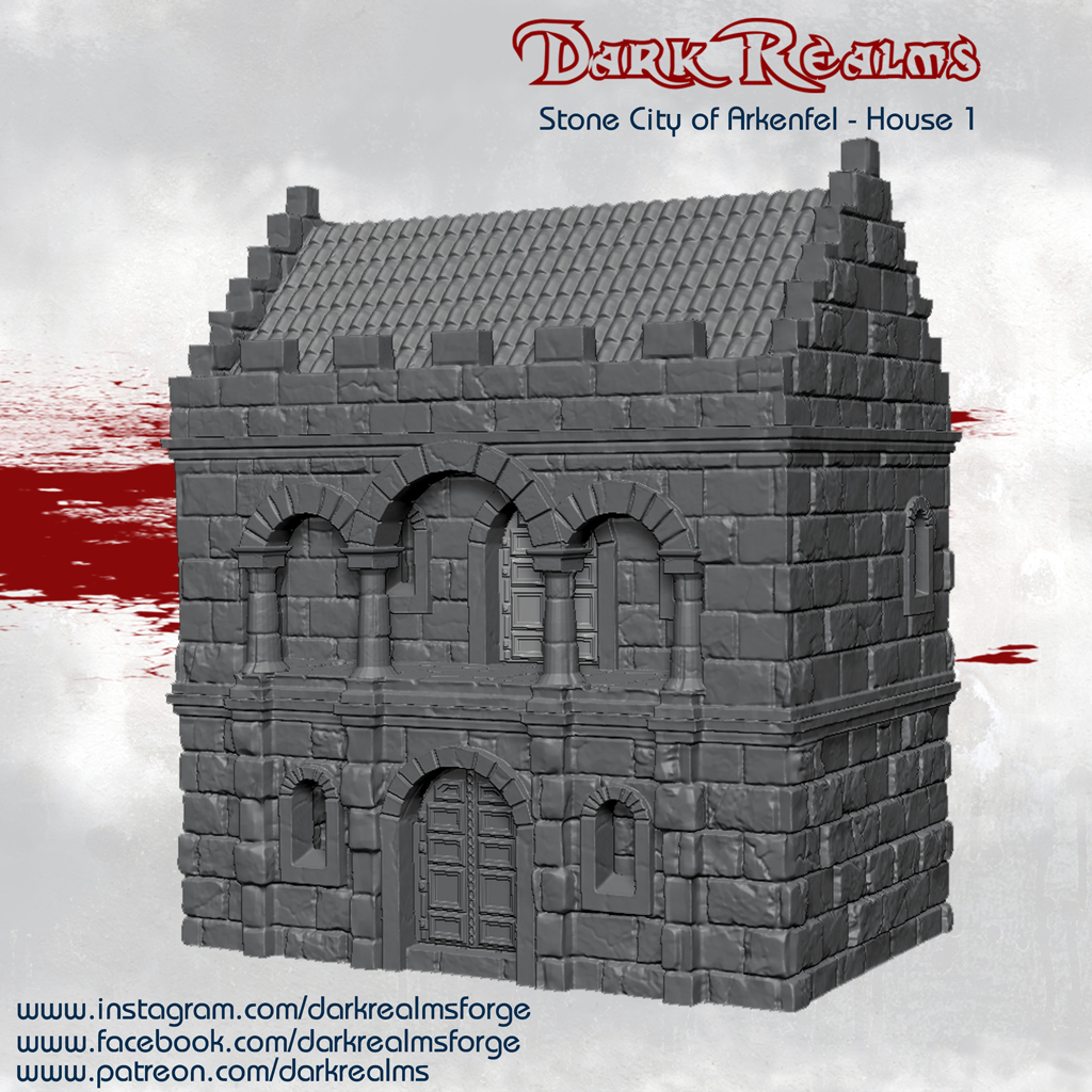 Dark Realms Forge Arkenfel House 1