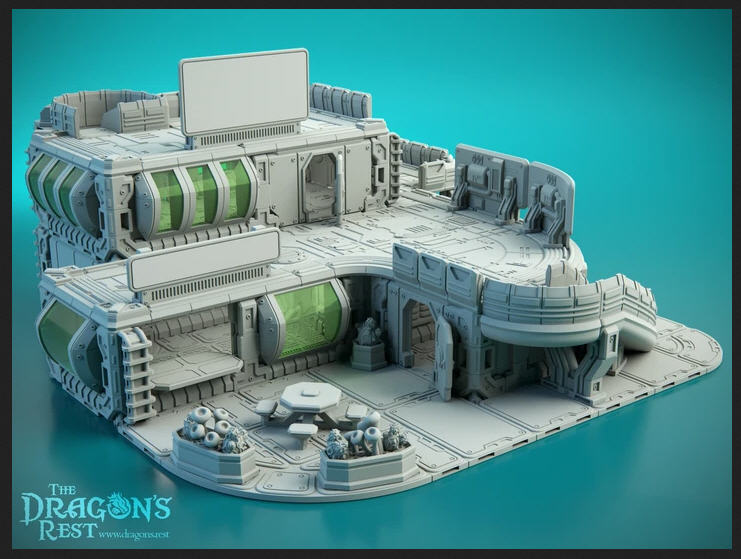 Dragon's Rest Origins Outpost Building Kit
