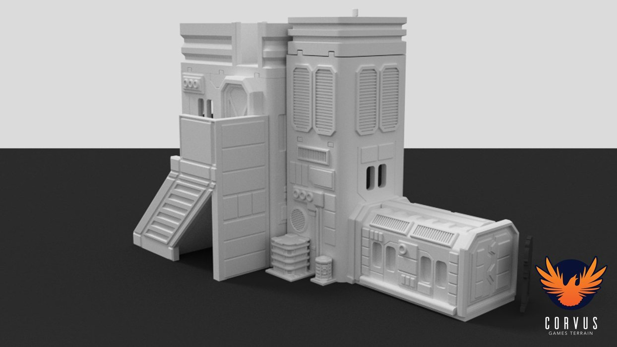 Corvus Terrain City Administration Building - Click Image to Close