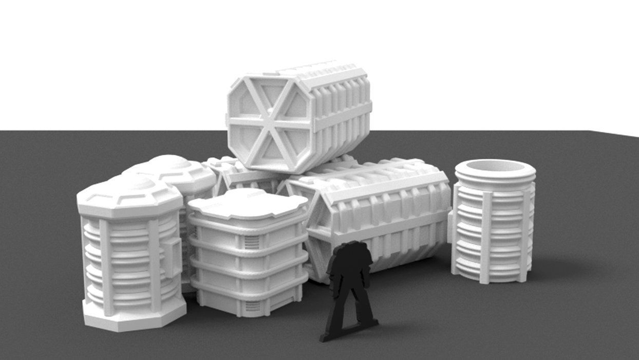 Corvus Games Cargo Container Set