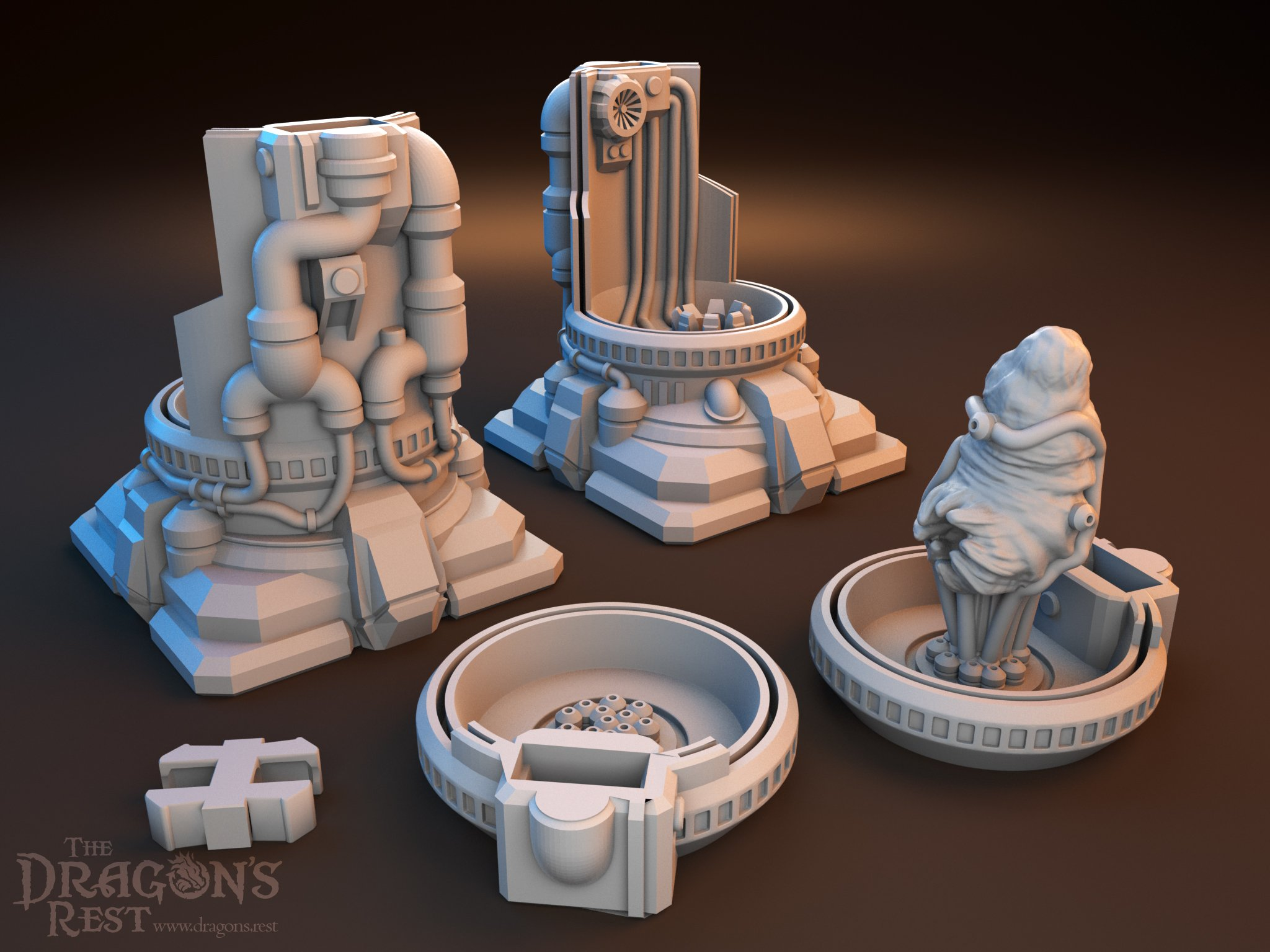 Dragon's Rest Med Lab Scatter Terrain Set
