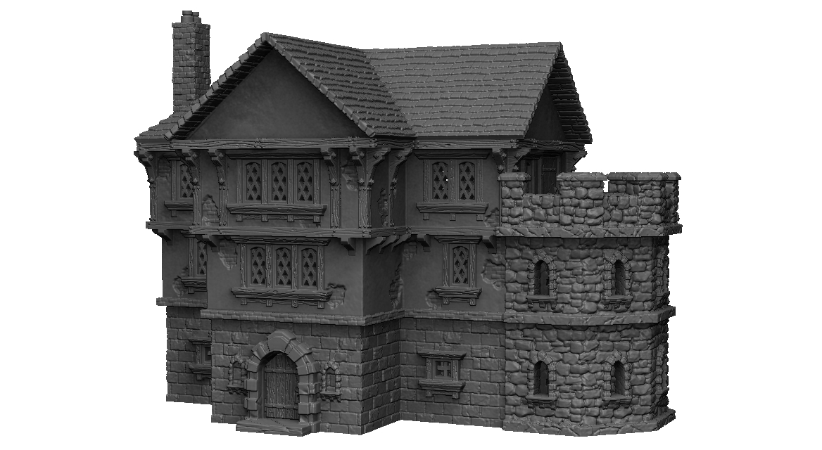 Dark Realms Forge Nobleman's Manor - Click Image to Close