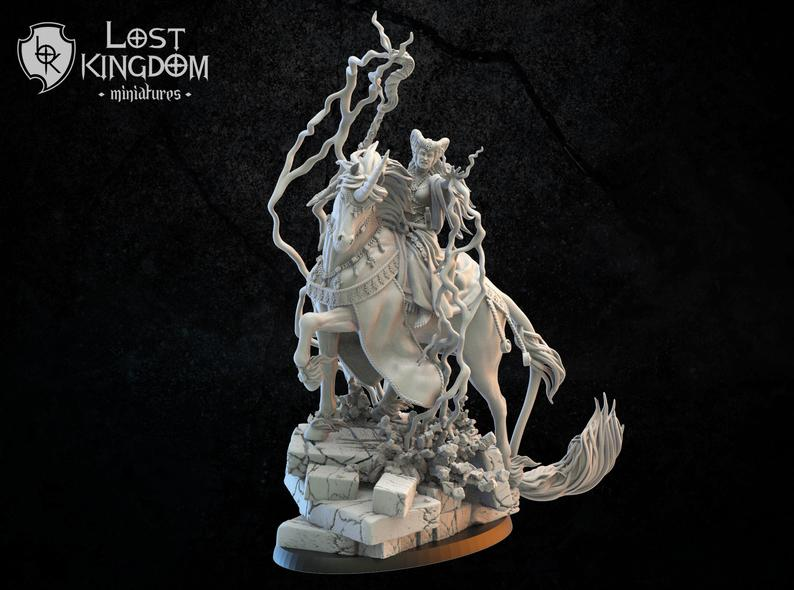 Lost Kingdom Miniatures Mercia Ildira Sorceress