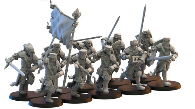 Lost Kingdom Miniatures Knights Afoot 2