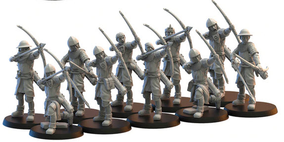 Lost Kingdom Miniatures Mercia Archers