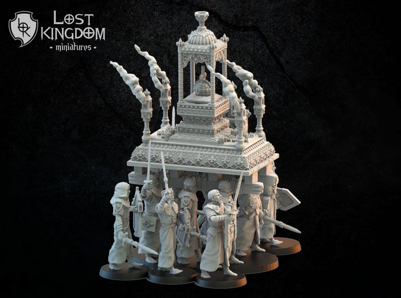 Lost Kingdom Miniatures Mercia Blessed Shrine - Click Image to Close