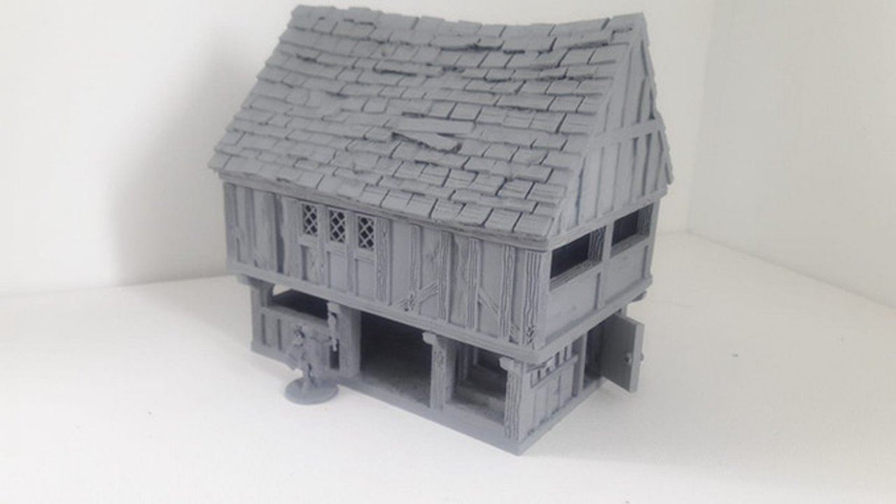 Dark Realms Forge Medieval Town Hall