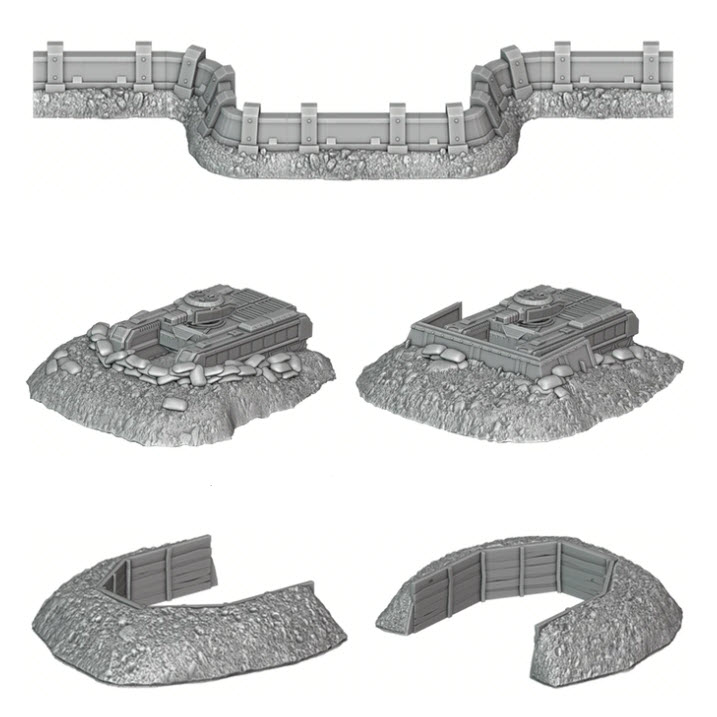 Tank Emplacement Set