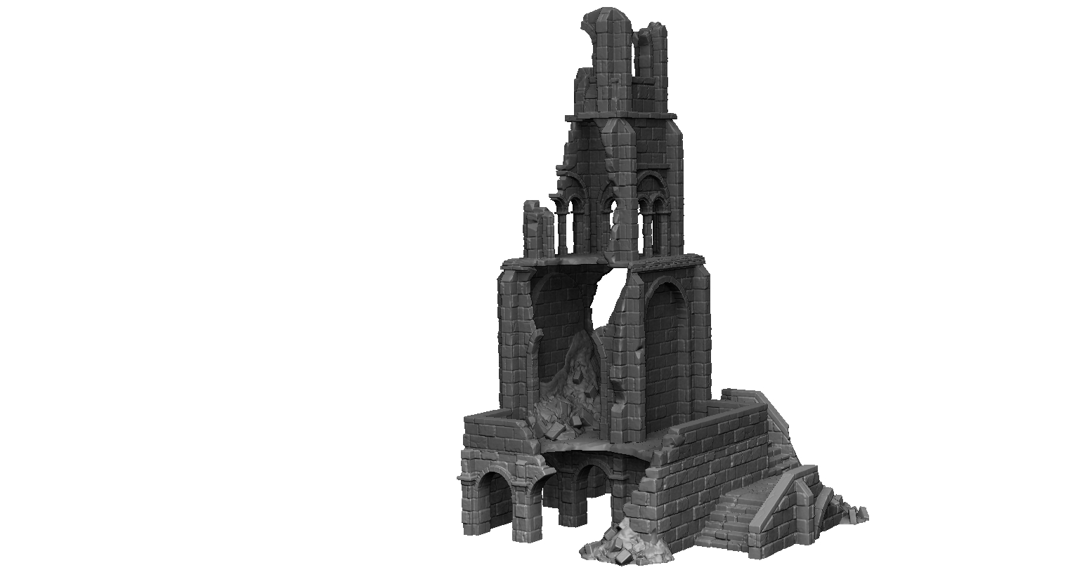 Dark Realms Forge Arkenfel Ruined Tower 1