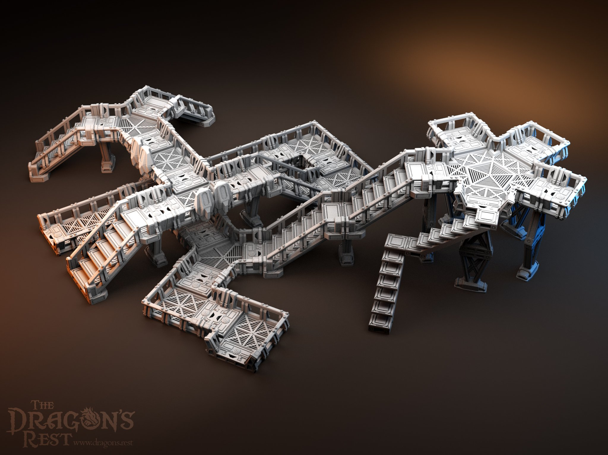 Dragon's Rest Elevated Walkways Bundle